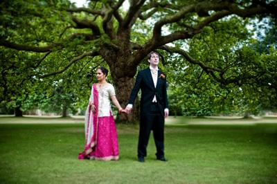 Tanita & David's Asian Wedding at Exbury Gardens in Hampshire