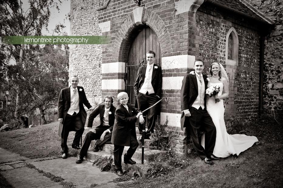 st john's church wedding in winchester
