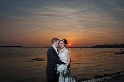 Sandbanks Wedding - Elizabeth & David