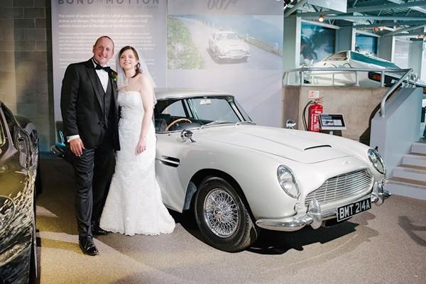 Beaulieu Motor Museum Wedding - Andrew & Helen