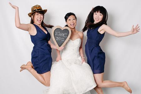 Reading Wedding Photographer - Kim & Sofiane's Photobooth