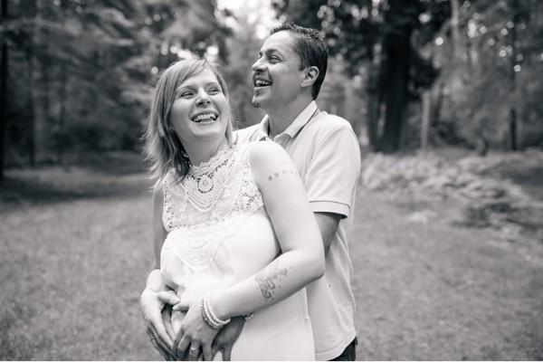 Maternity Photography in Hampshire - Vicky & Richard