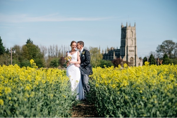 Allie & Robin's village wedding in Steeple Ashton, Wiltshire