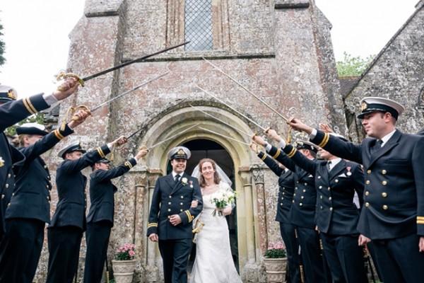 Georgina & Adam's Village Garden Wedding in Wiltshire