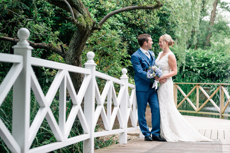 Jenny & Sean - Gordleton Mill Wedding in Lymington