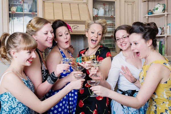 Hannah's Vintage Themed Hen Night