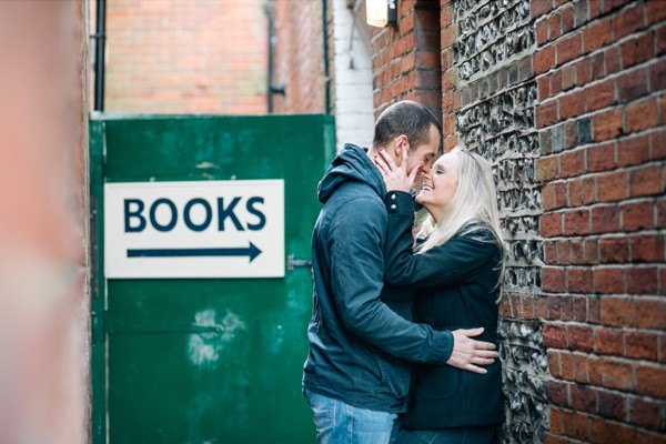 Hannah & Frankie's Portrait Session in Winchester