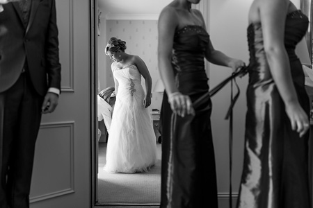 Nicola & Shane's Careys Manor Wedding