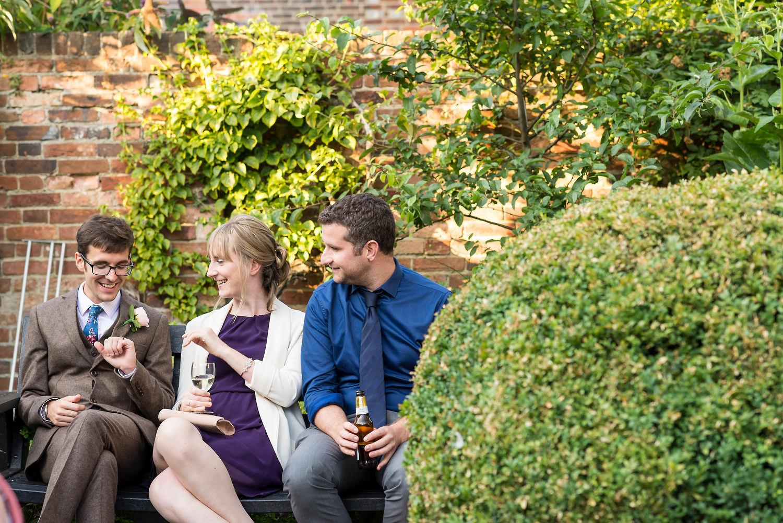 garden wedding poole
