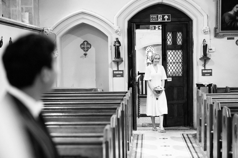 Bride in Lyndhurst