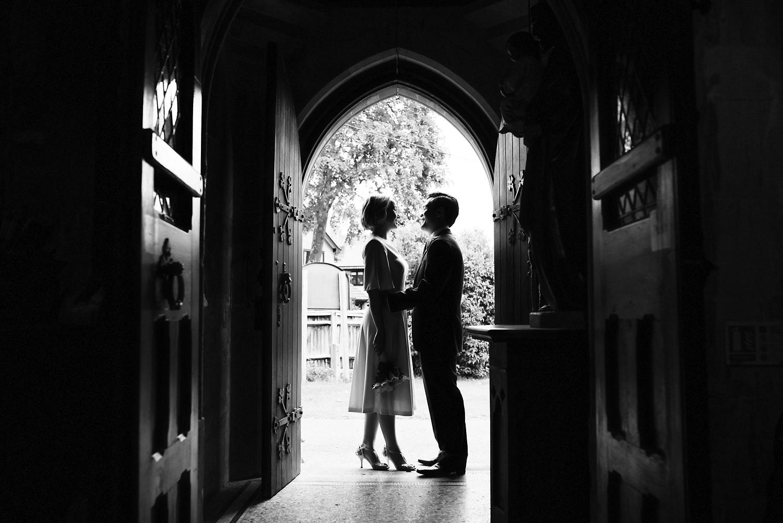 Bride & Groom in Lyndhurst