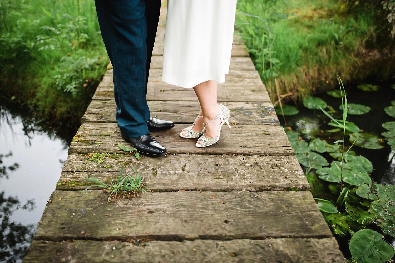 Bride & Grooms Shoes Limewood