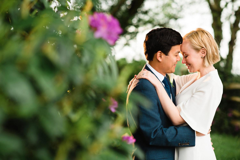 Couple outside Limewood