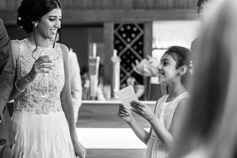 ghandis wedding reception in winchester