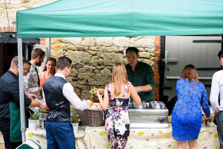 New Barn Farm Calbourne Wedding