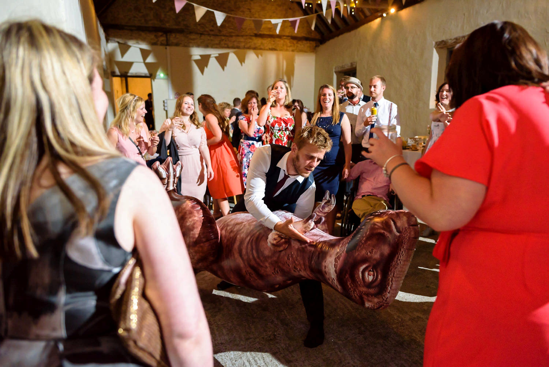 barn wedding on the isle of wight