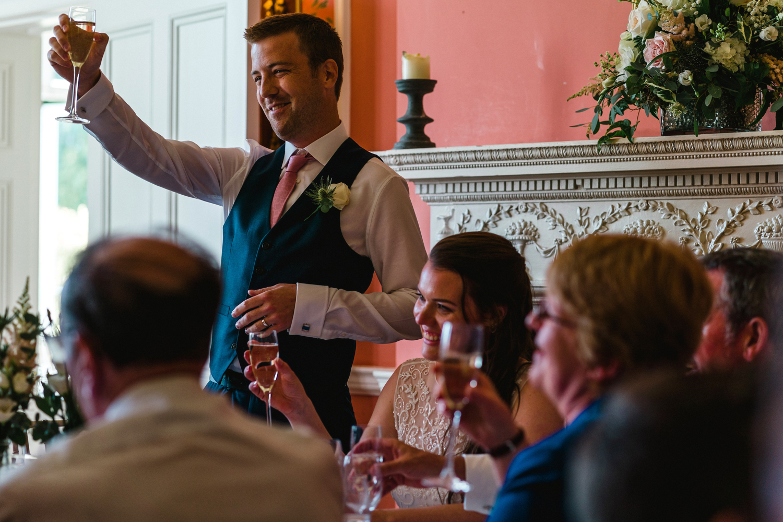 penton park wedding speeches