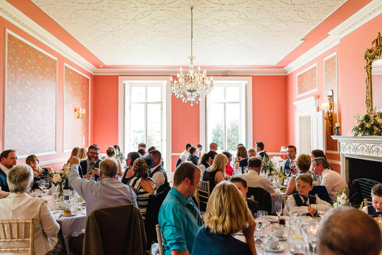 wedding breakfast at penton park