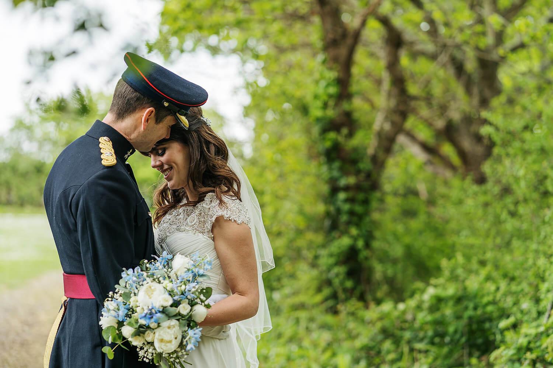 military wedding at tournerbury woods on hayling island