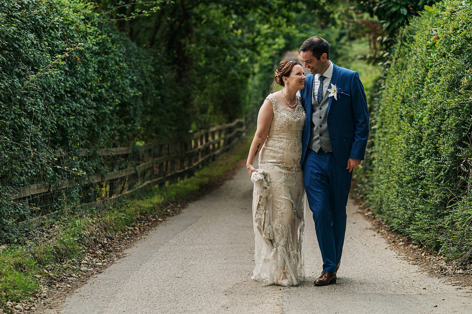 wedding at bartley lodge new forest