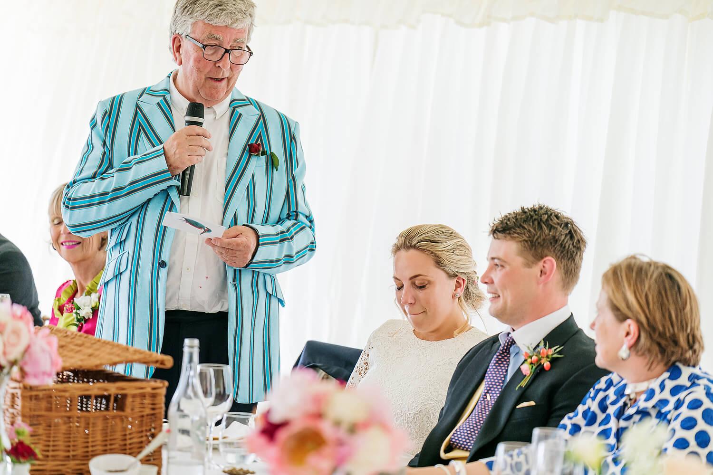 romsey wedding speehes