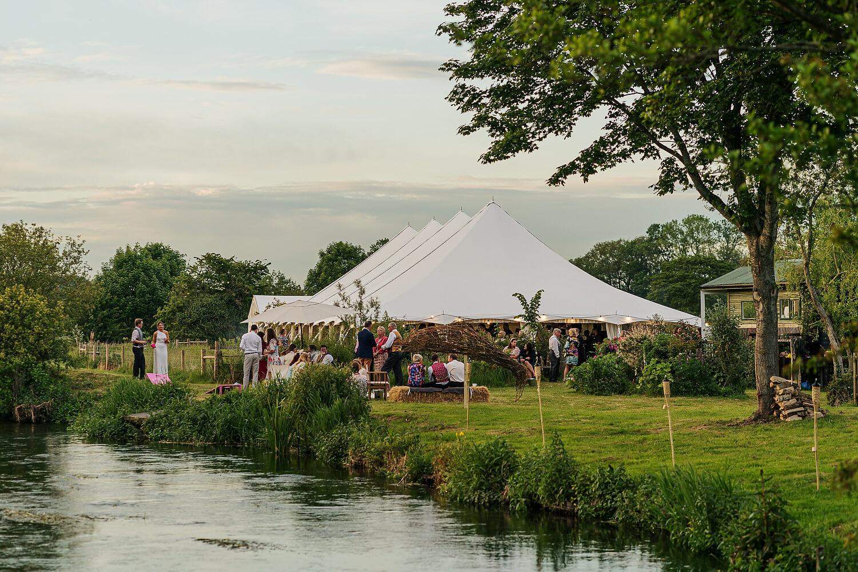riverbank wedding romsey
