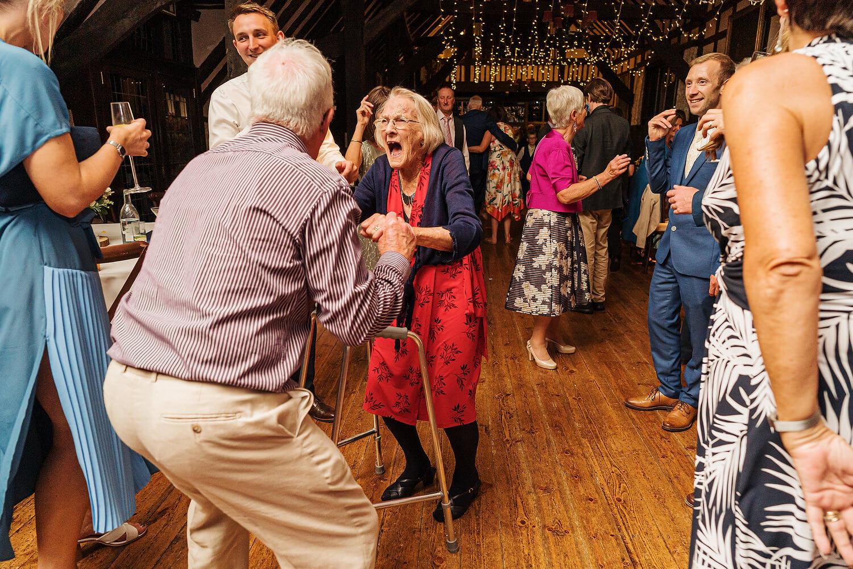 dancing at lythe hill hotel wedding