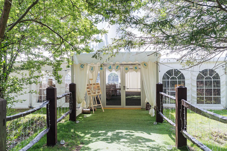 wedding entrance on hayling island