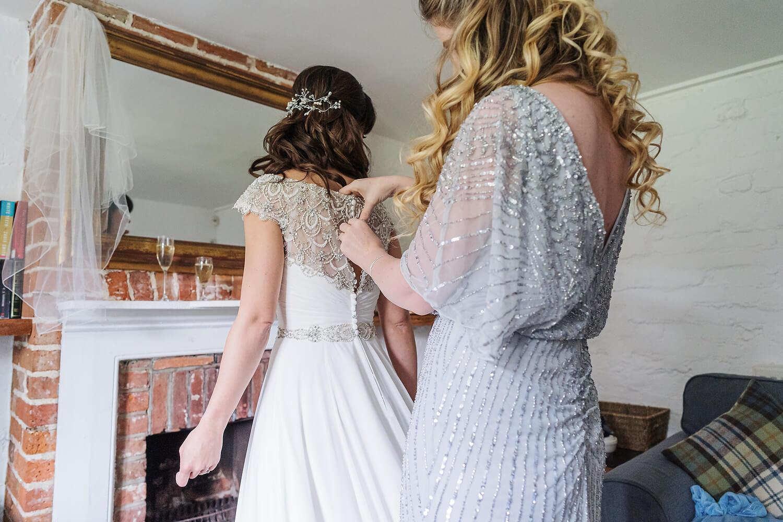 bride at tournerbury woods wedding