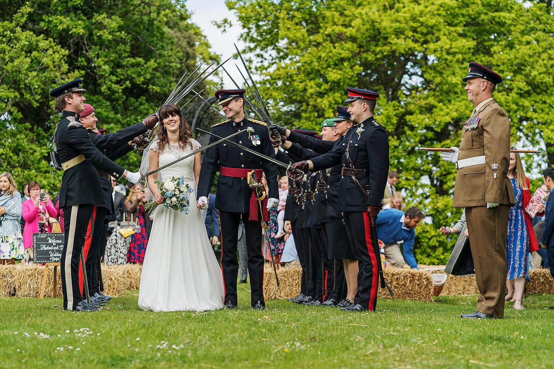 military wedding at tournerbury woods