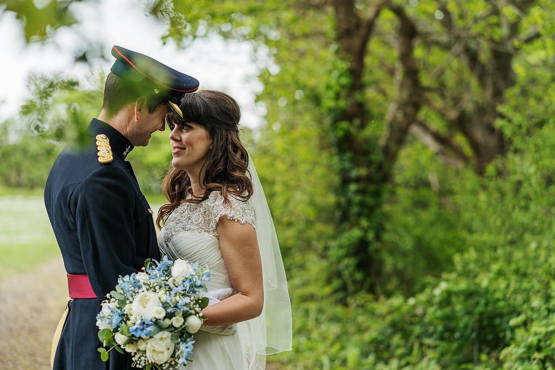 bride and groom tournerbury woods wedding