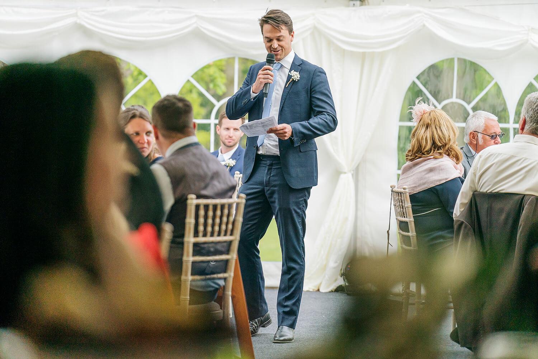 wedding speeches tournerbury woods