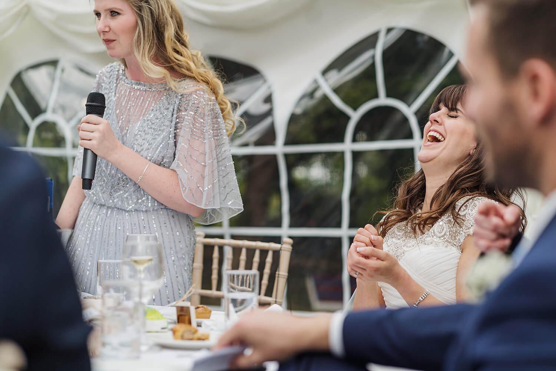 bridesmaid speech tournerbury woods estate