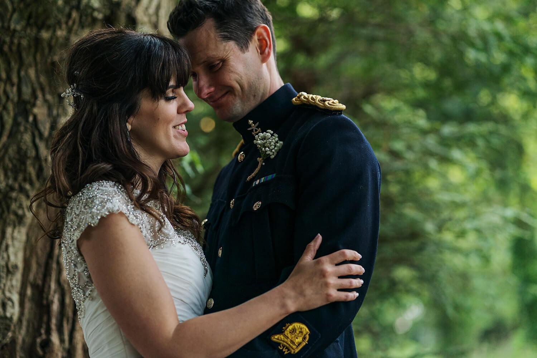 bride and groom tournerbury woods estate