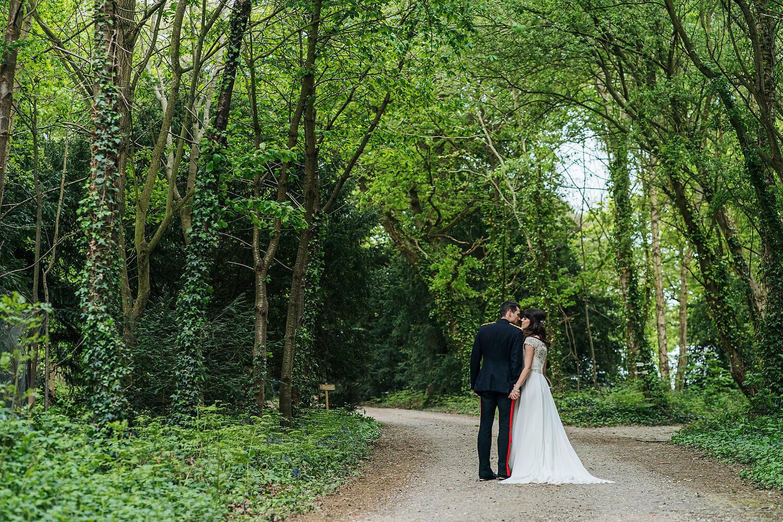 wedding at tournerbury woods estate