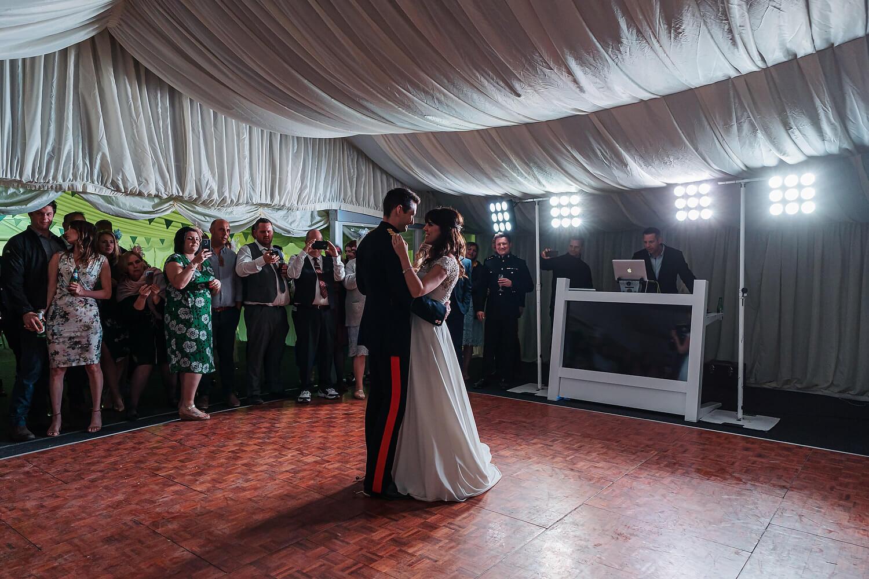 first dance at tournerbury woods estate