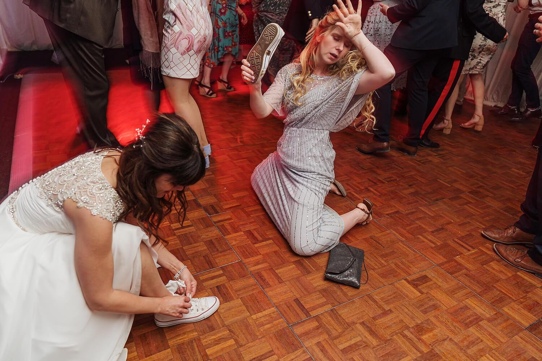 dancing at tournerbury woods wedding