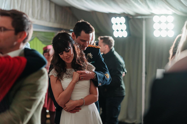 bride and groom first dance tournerbury woods