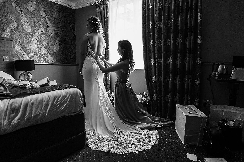 bridal preparations at lythe hill hotel