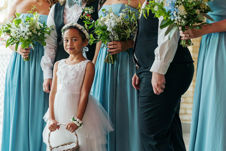 bridesmaid at lythe hill hotel