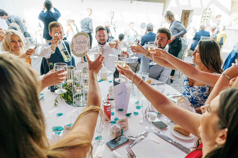 wedding reception at lythe hill hotel