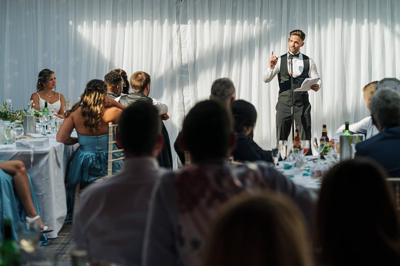 wedding speeches at lythe hill hotel