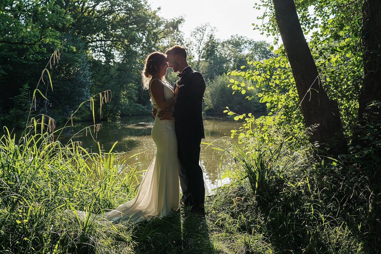 bride and groom lythe hill wedding