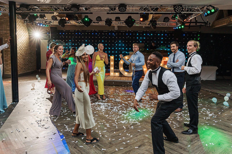 evening wedding reception lythe hill hotel surrey