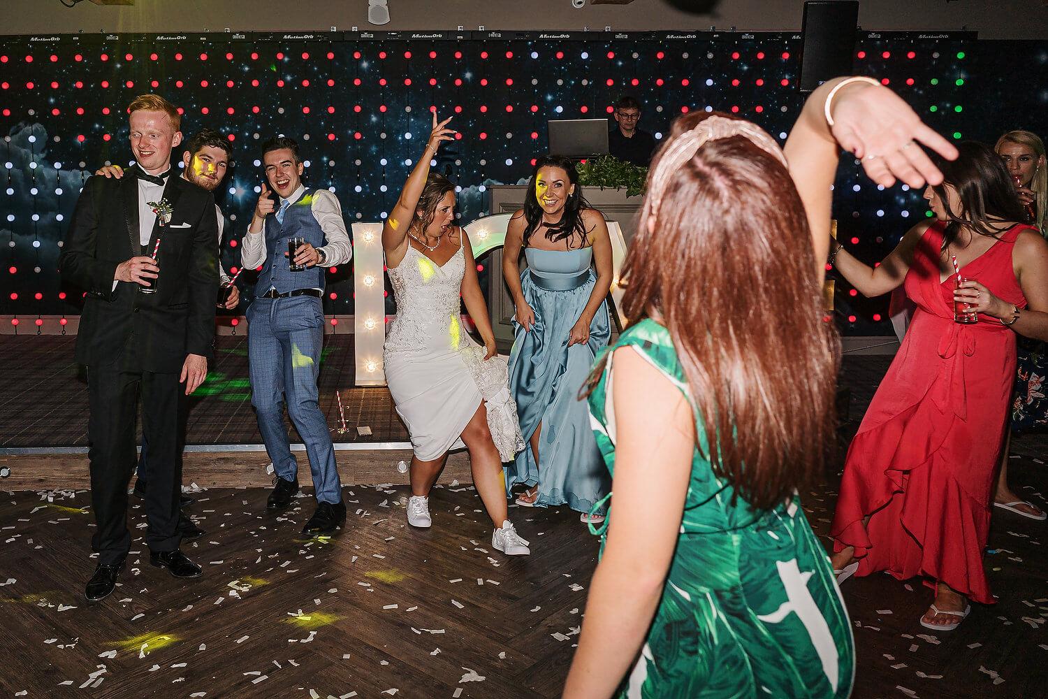 wedding reception lythe hill hotel