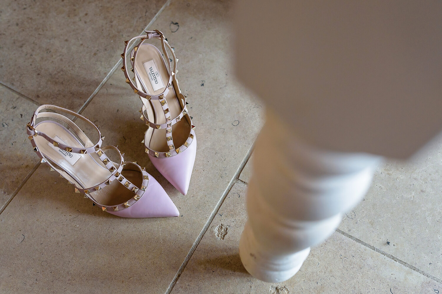 wedding shoes at lulworth wedding