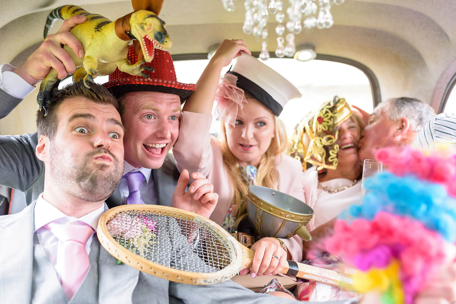 photobooth taxi at wedding