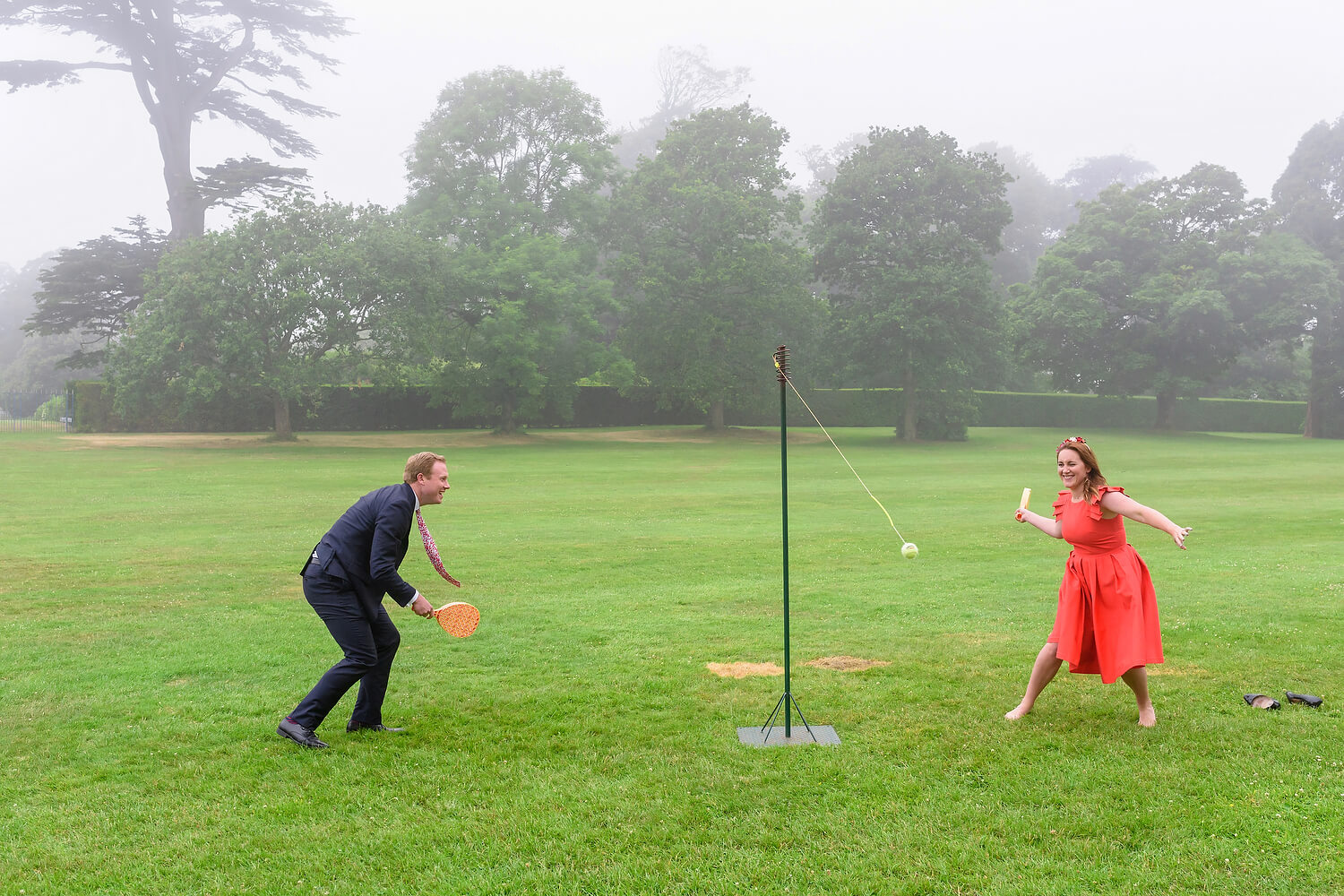 outdoor games at wedding