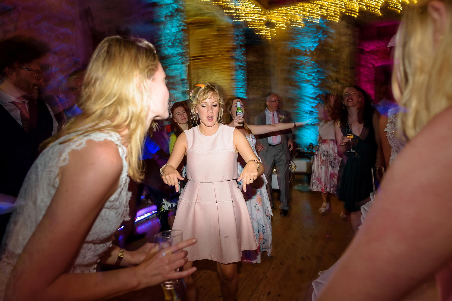 dancefloor at wedding