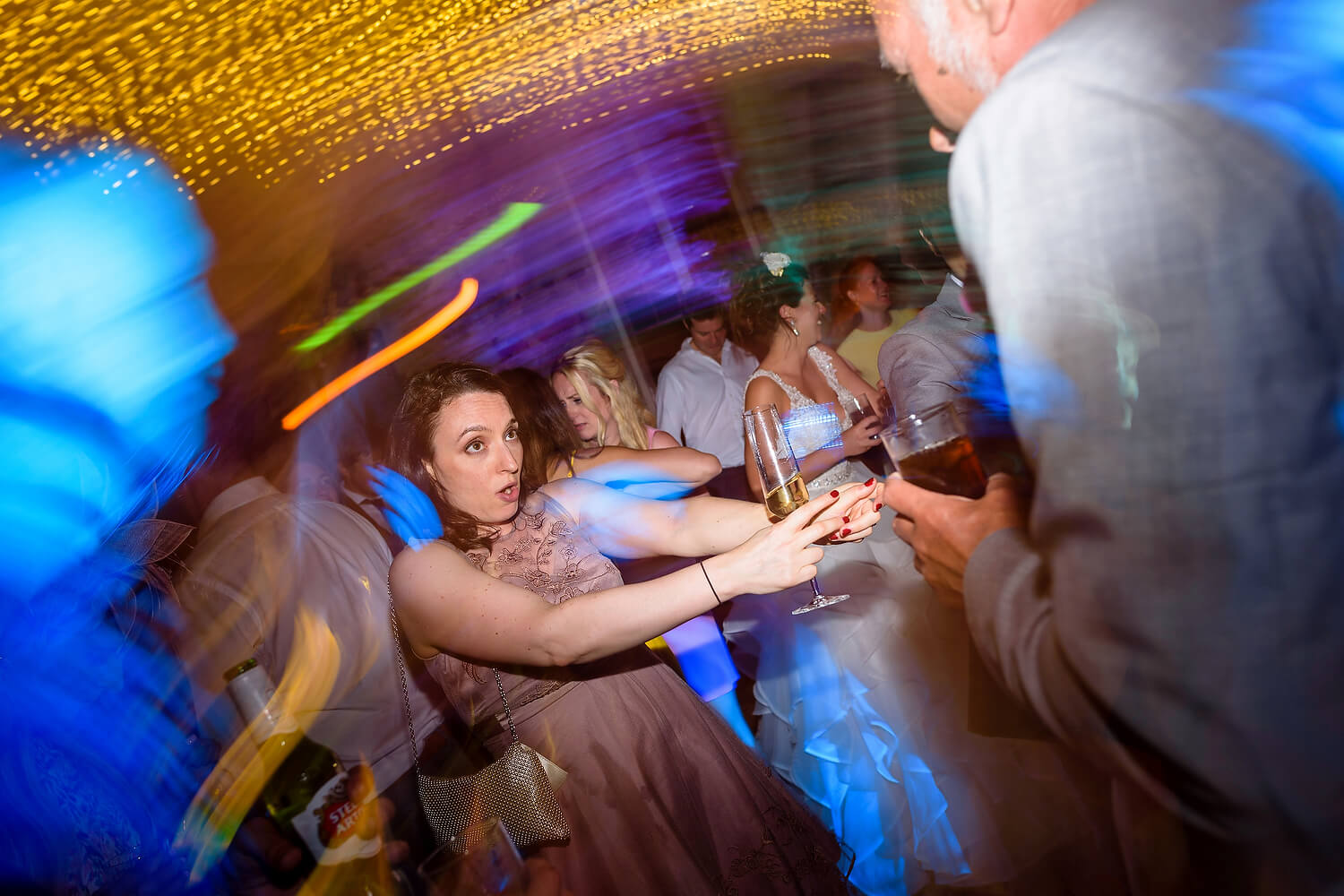 lulworth dancefloor at wedding